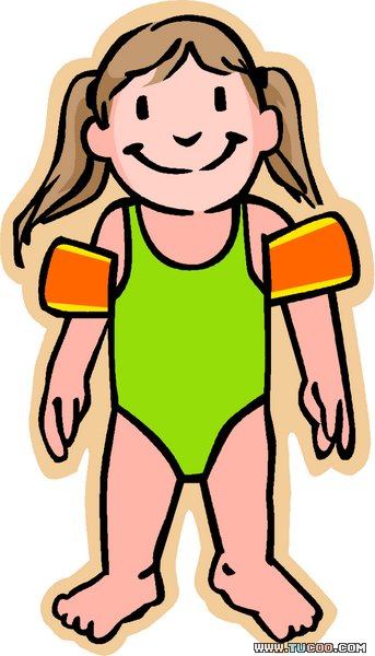 Swimming lessons clip art